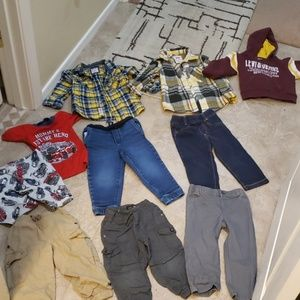 Baby boy clothing lot 2t